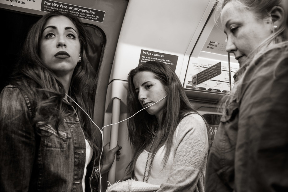 Piccadilly Line near Green Park, London