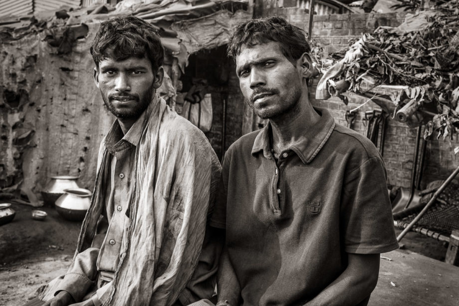 Coal Yard Workers - Varanasi