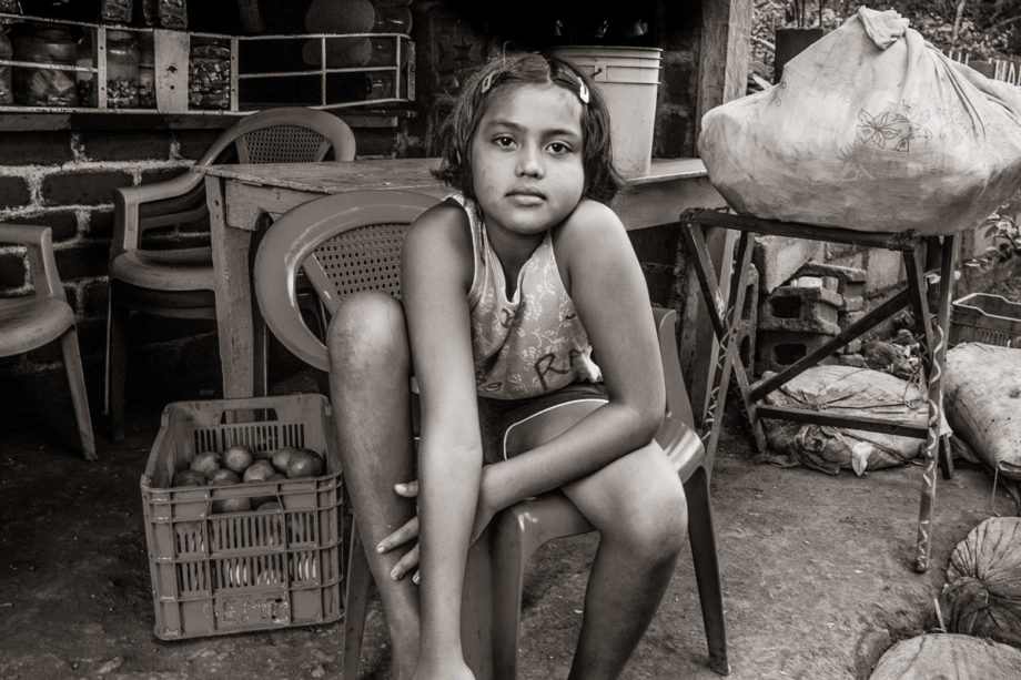 Girl in Chair - Ometepe