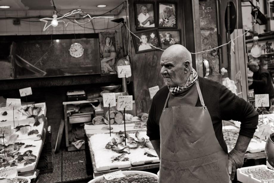 Fishmonger, Naples