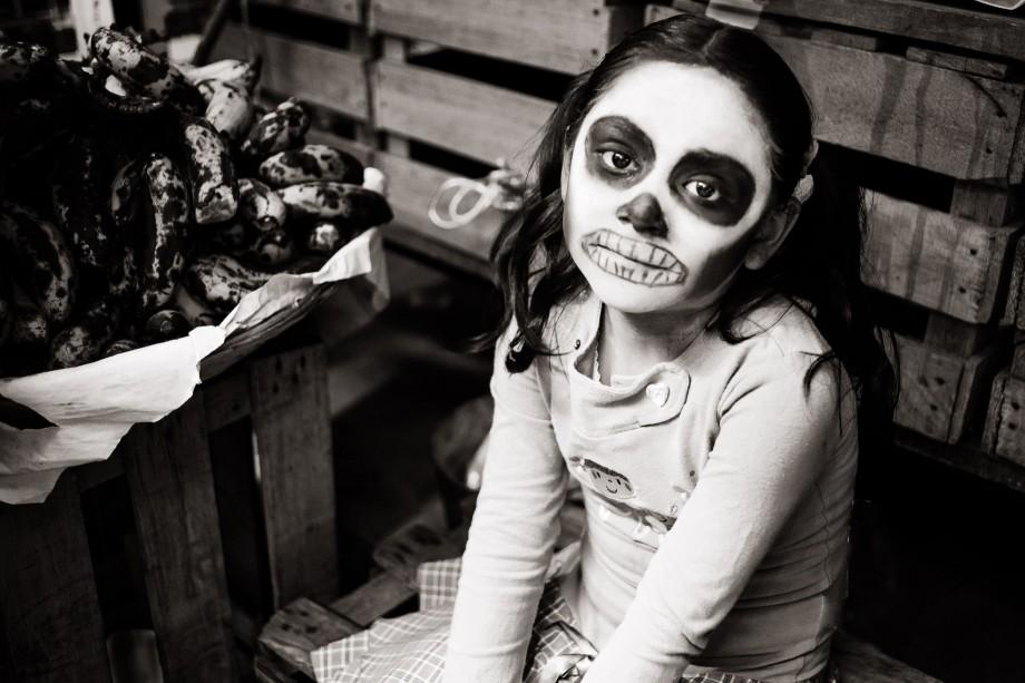 Girl at the Abastos Market, Oaxaca