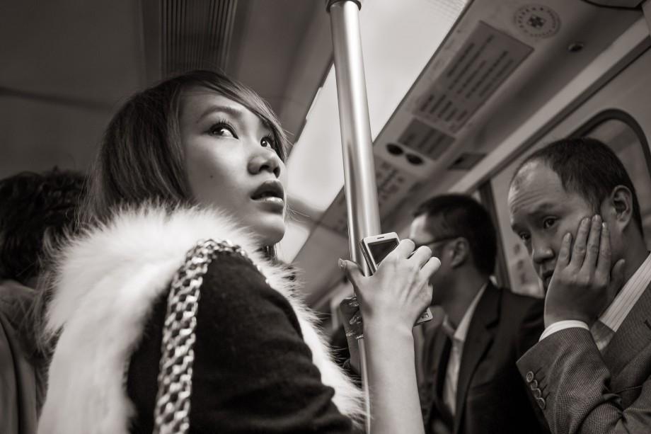 Metro Line 1 near People's Square, Shanghai