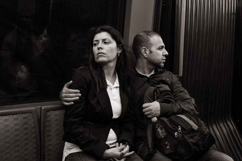 Metro Line 4 near Château d'Eau, Paris