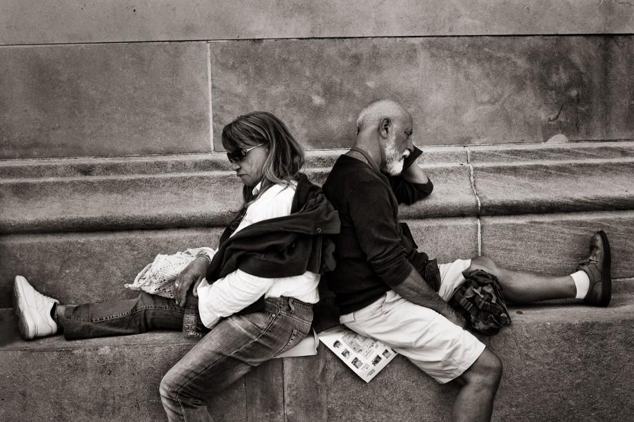 Outside the Metropolitan Museum, Manhattan