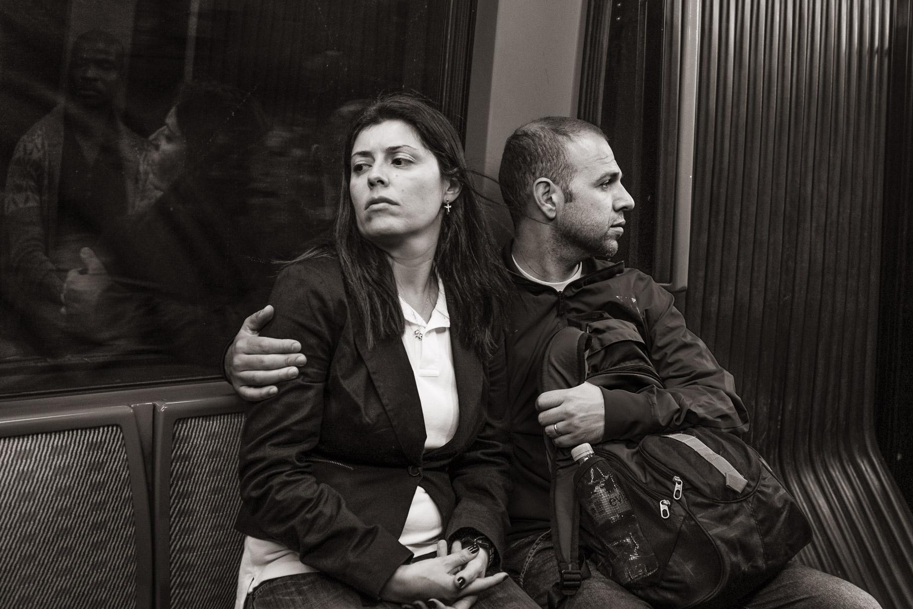 01 Metro Line 4 near Château d'Eau, Paris
