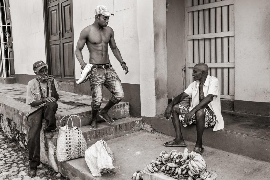 White Shoes - Trinidad, Cuba
