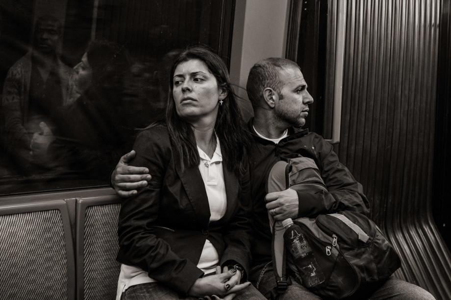 Line 4 near Étienne Marcel, Paris (2013)