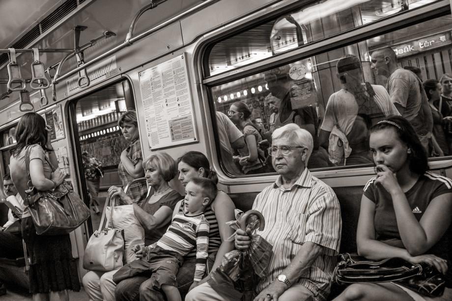 Metro 3 Deák Ferenc Tér Station, Budapest