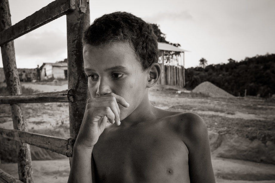 Boy in Thought - Bahia, Brazil