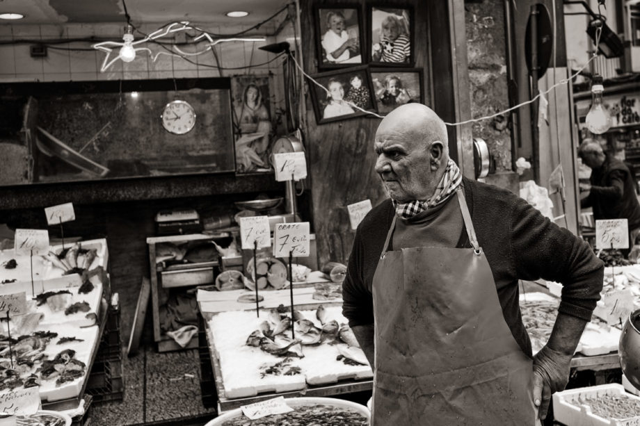 Fishmonger, Naples
